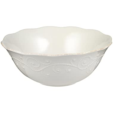 Lenox French Perle Serve Bowl, White