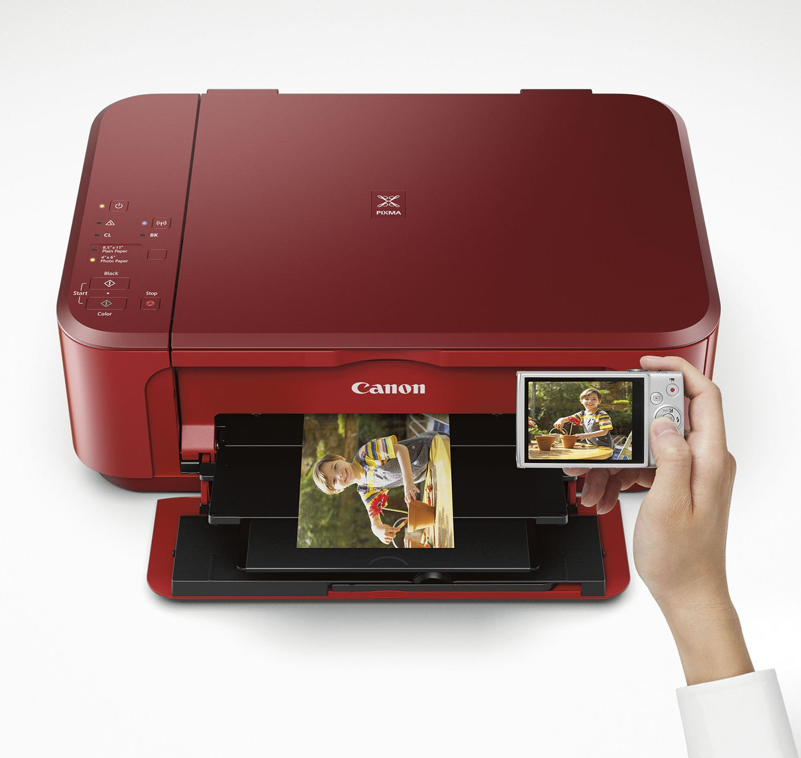 Canon PIXMA MG3620 Wireless All-In-One Color Inkjet Printer with Mobile and Tablet Printing, Red by Canon (Image #5)