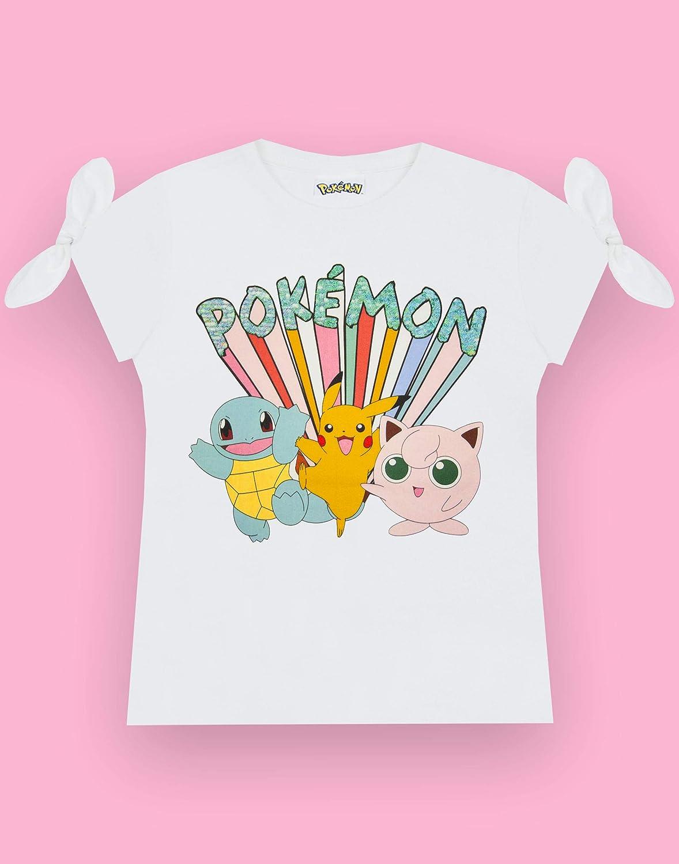 Vanilla Underground Pokemon Pikachu And Characters Maglietta da Ragazza