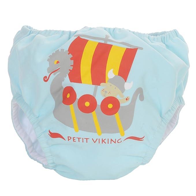 PIWAPEE - Traje de baño con pañal para Nadar eclipsable y barreras Anti Fugas patentadas Swim+