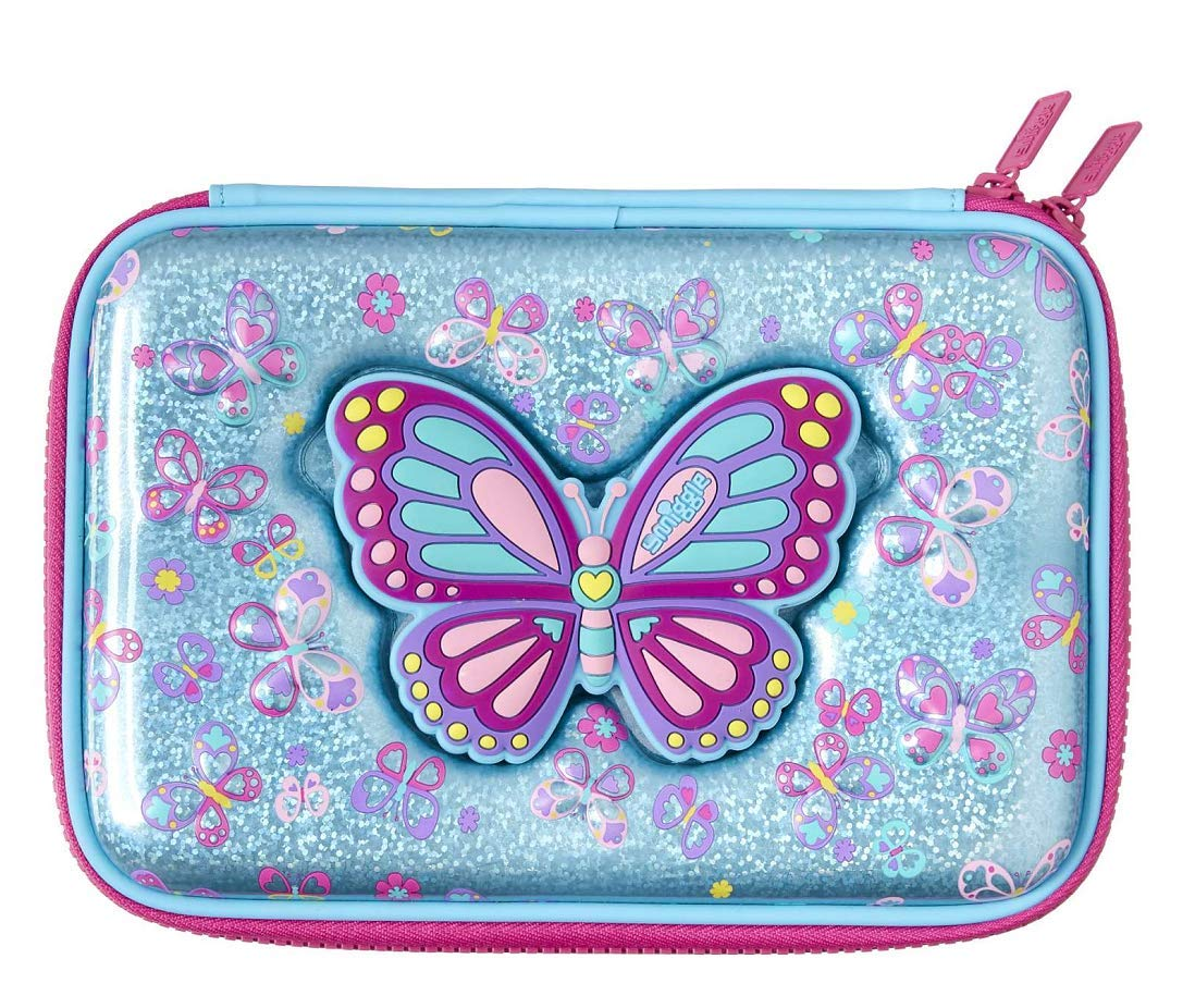 Smiggle Mirror Hardtop Pencil Case from Maxmillion London (Blue) by Smiggle