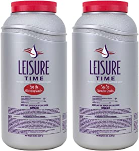Leisure Time E5-02 Spa 56 Chlorinating Granules for Spas and Hot Tubs, 5-Pounds, 2-Pack