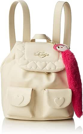 Love Moschino Borsa Nappa PU, Bolso tipo mochila para Mujer, 29x14x30 centimeters (W x H x L)