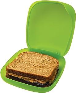DCI Reusable Sandwich Box, Assorted