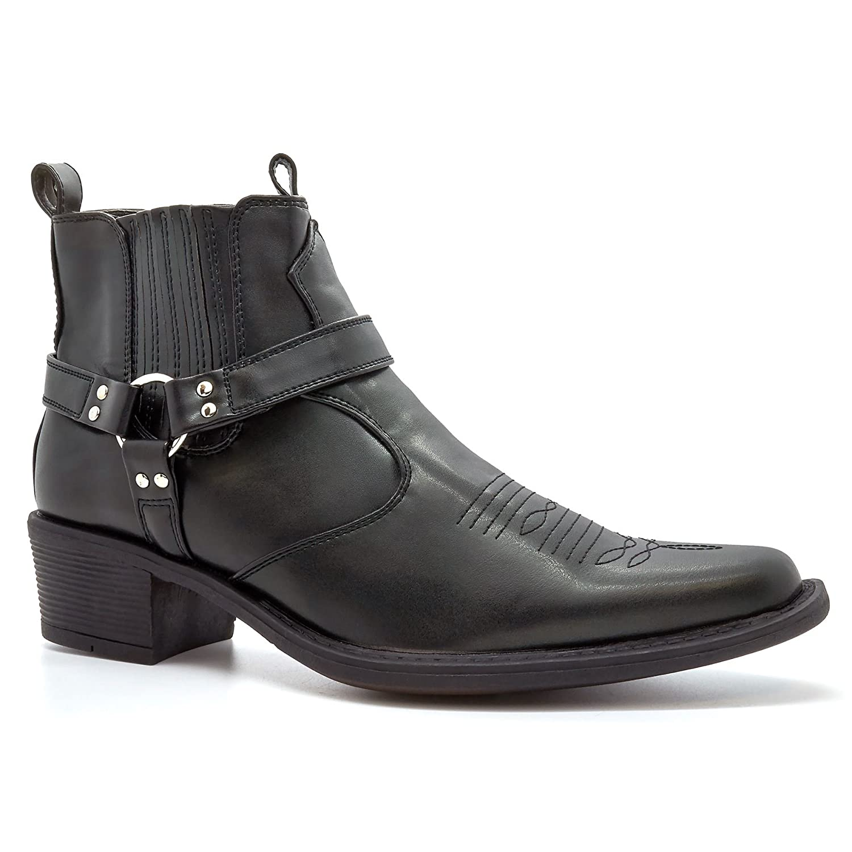 London Footwear - Botas De Vaquero hombre: Amazon.es: Zapatos y complementos