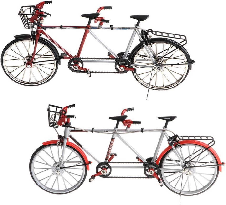 Sharplace 2pcs 1:10 Escala Bicicleta en Tándem de Aleación en ...