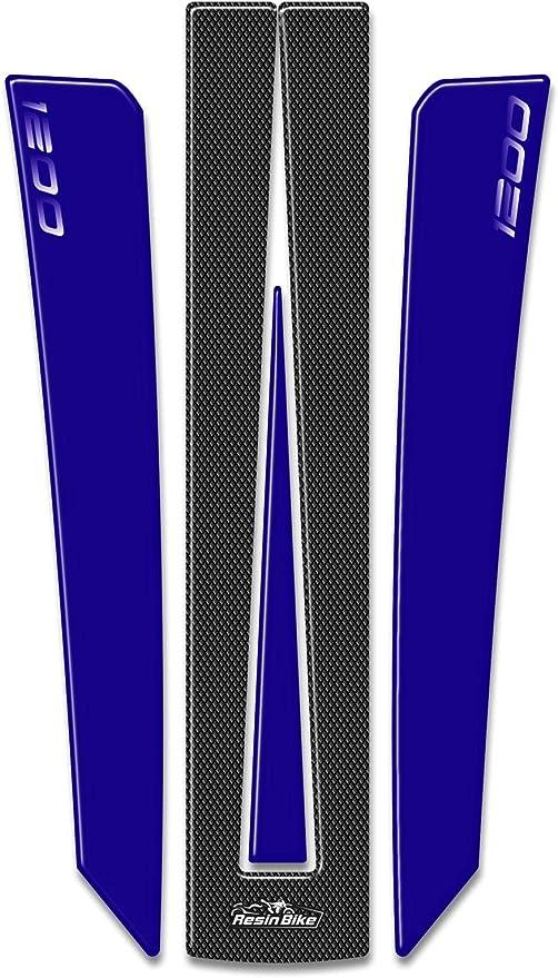 Adh/ésifs 3D Protection Bras Oscillant Arri/ère pour Triumph Tiger Explorer 1200-2011-2015 M/étal Bleu