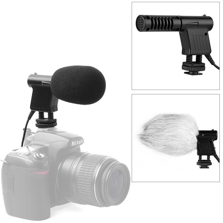 BOYA BY-WM8 UHF Doppelkanal Kabellos Lavalier Mikrofon System STEREO/MONO-Modus Mic & Line-In 48 Kanäle Mehr als 6 Stunden Betrieb für Interviews ENG EFP DV DSLR videokamera BY-WM8-1
