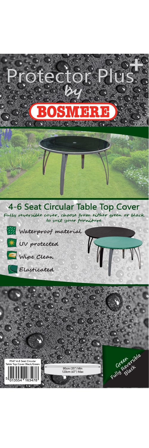 Bosmere C547 4/6 Seat Circular Table Top Cover Bosmere Products Ltd