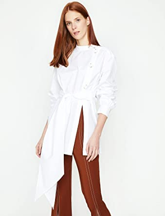 f958996b52679 Koton GOMLEK Gömlekler Kadın: Amazon.com.tr