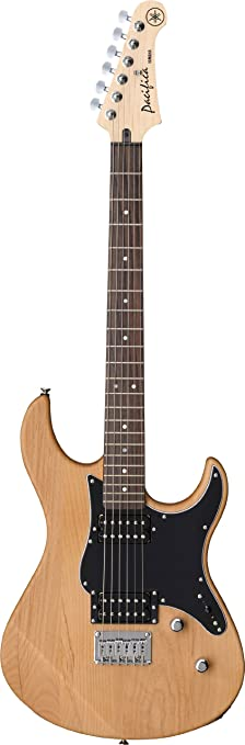 yamaha pacifica. yamaha pacifica pac120h yns solid-body electric guitar, yellow natural