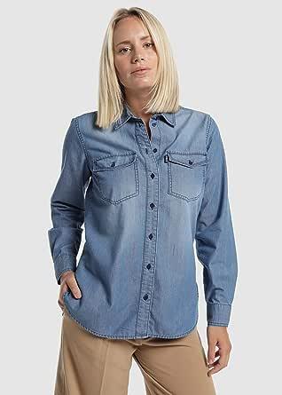 Victorio & Lucchino-Mujer-Camisas-Denim-XX-Large: Amazon.es: Ropa y accesorios