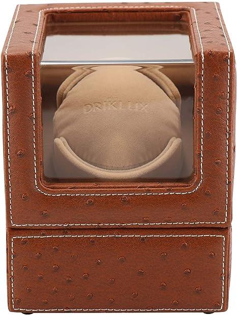 Audivik Caja Giratoria Reloj Automatico Bateria,Watch Winder 1 Reloj Pilas, Caja para Relojes Automaticos,Caja Giratoria para Relojes,Marrón: Amazon.es: Deportes y aire libre