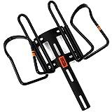 DOPPELGANGER(ドッペルギャンガー) ダブルケージマウント マウント本体+ボトルケージ2個セット KUUBOシリーズ DBC432-BK
