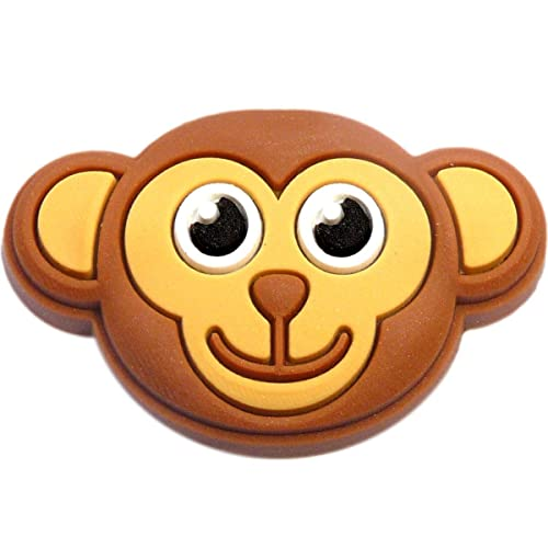 ec5e3036849bf Monkey Face Rubber Charm for Wristbands and Shoes