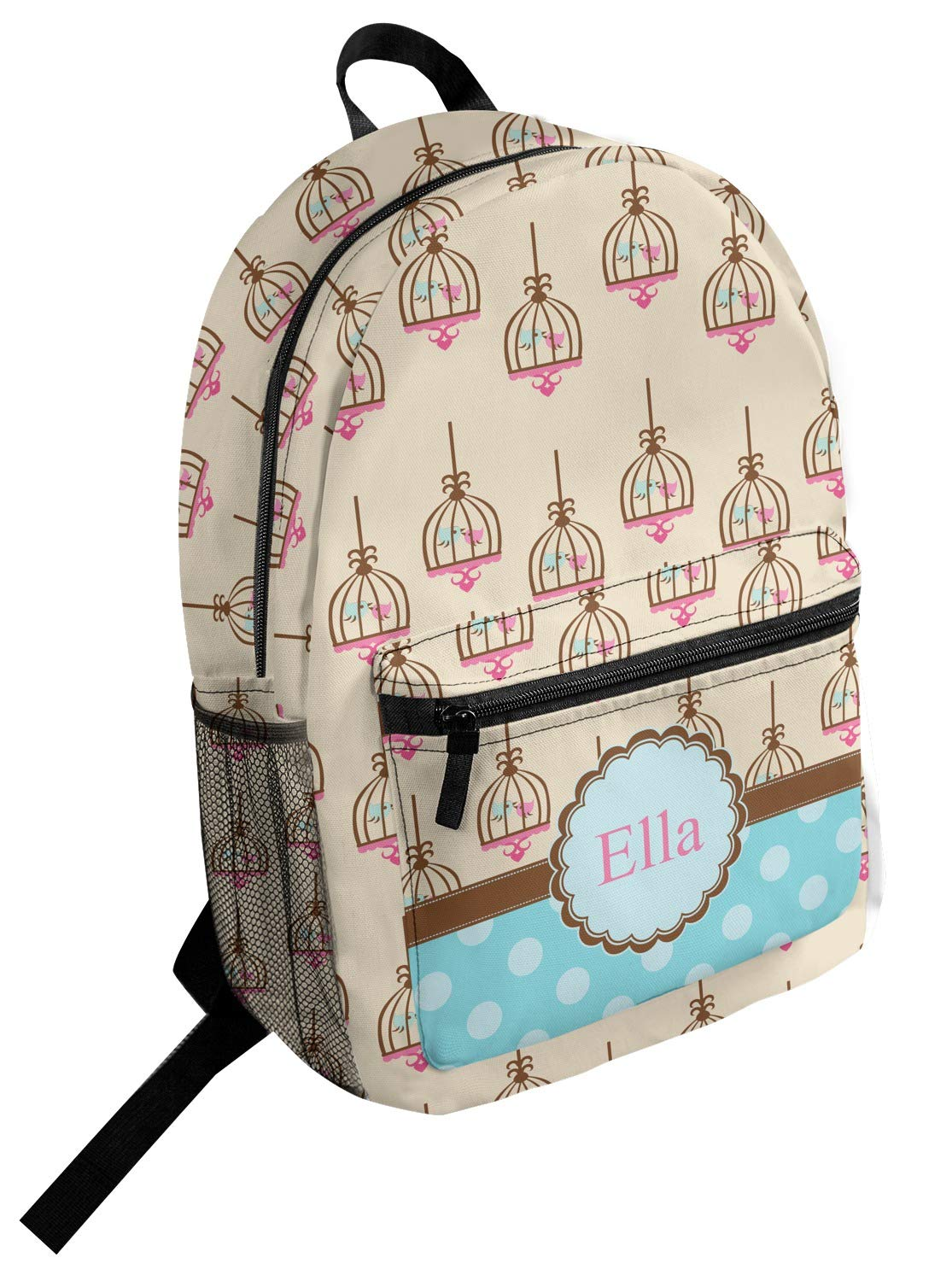 Personalized Kissing Birds Student Backpack