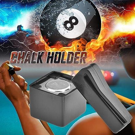Blossomer Bolsa de Polvo de Pistola de Billar, Bolsa de Polvo de Pistola de Accesorios de Club magnético de Billar,: Amazon.es: Deportes y aire libre