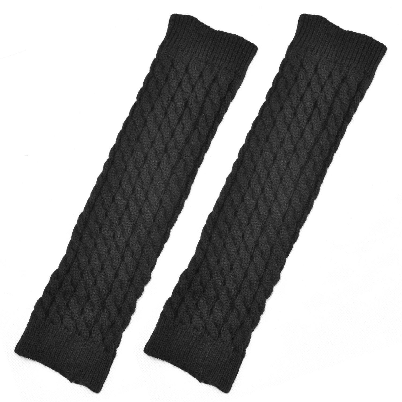 TRIXES Kniehohe Stulpen aus Strick Beinstulpen zum Überziehen