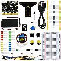 KEYESTUDIO Kit débutant pour BBC Micro: bit- avec Guide leçons, Photo et tutoriels Apprentissage Simple