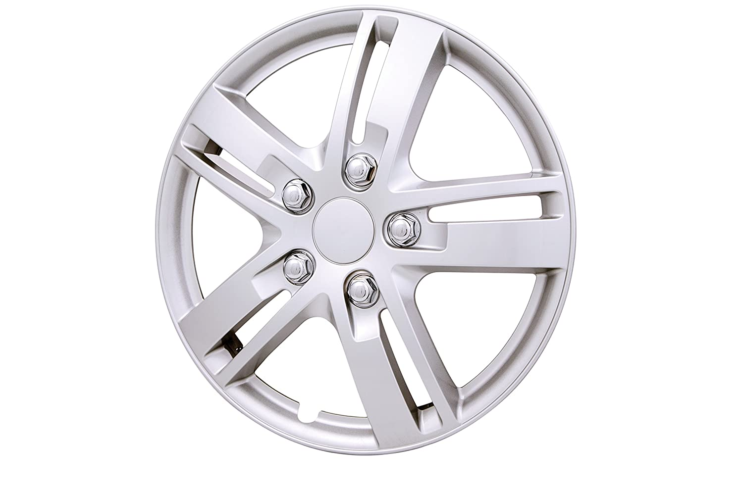 4 pieces TABOGA ABS Silver Wheel Covers R14 14 inch Hubcaps CAR