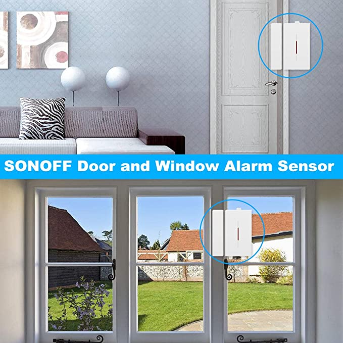 Amazon.com: Walmeck SONOFF DW1 Wireless Magnetic Sensor 433Mhz Door Window Automation Anti-Theft Alarm for Smart Home Security Alarm System: Home ...