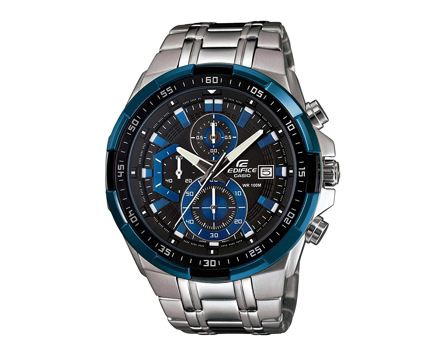 Buy Casio Edifice Chronograph Multi-Color Dial Men s Watch - EFR-539D-1A2VUDF  (EX190) Online at Low Prices in India - Amazon.in e04dc28b65