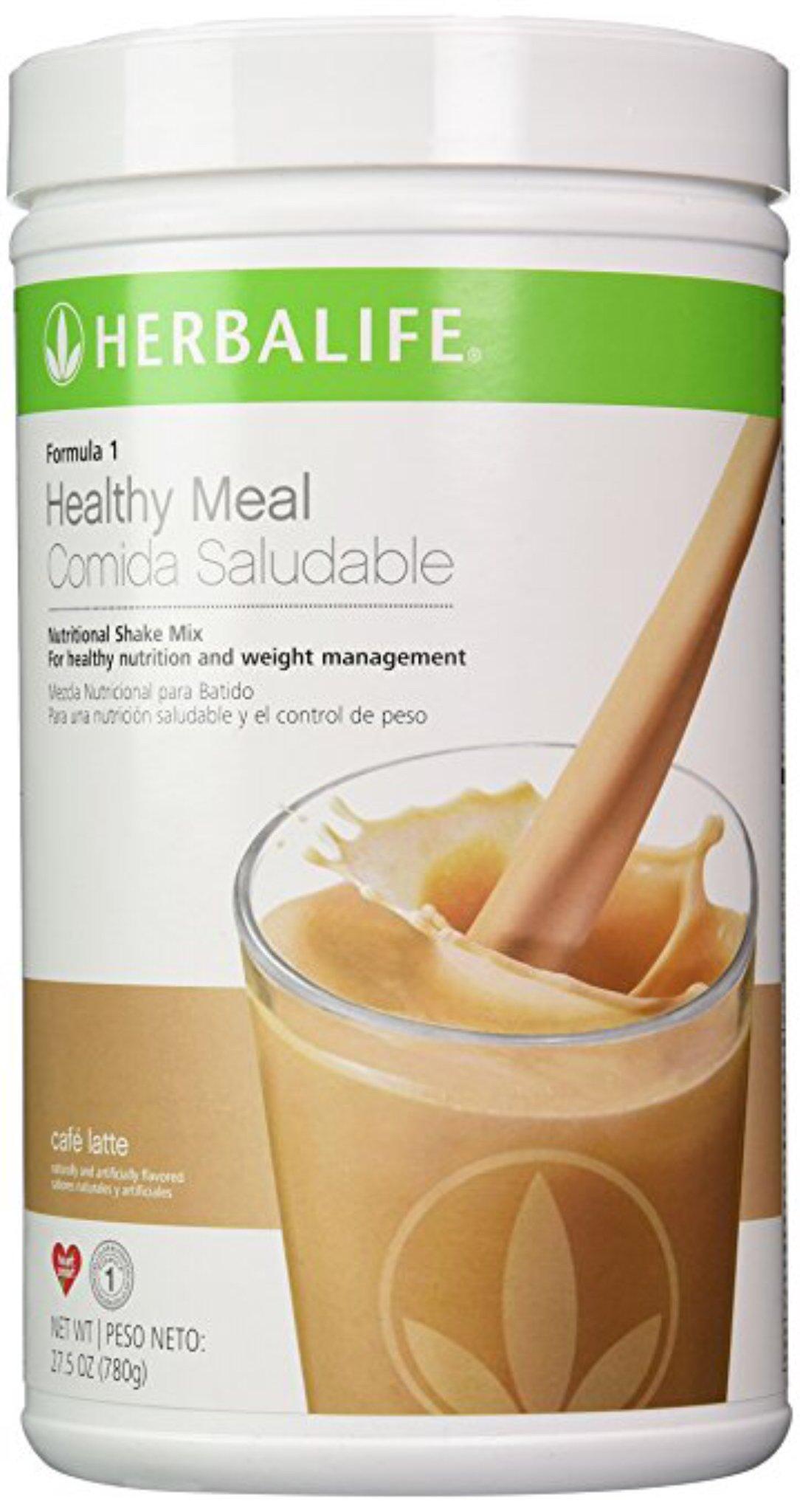 Formula One Nutritional Shake Mix Canister - Cafe Latte Flavor (Original Version)