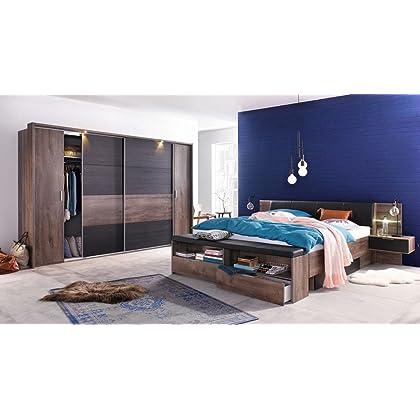 Dreams4Home Schlafzimmer Set \'Turgo I\' - Set, Doppelbett ...