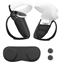 Esimen Finger Socket Grip Cover for Oculus Quest 2 Anti-Throw Touch Controller Handle Protective Sleeve Accessories…