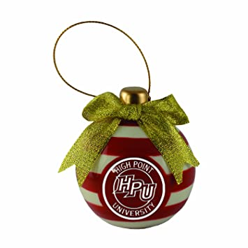 Amazon.com: High Point University-Christmas Bulb Ornament: Home ...