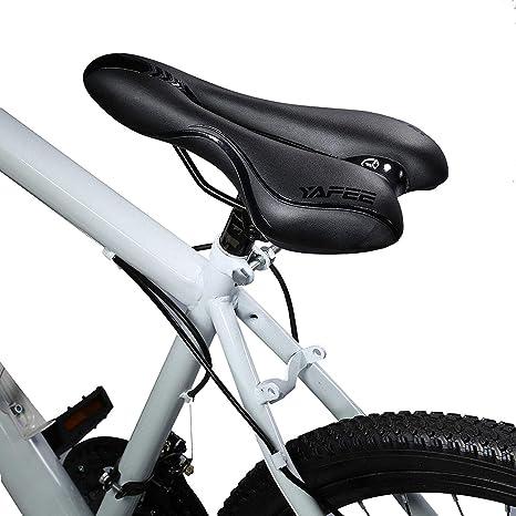 WYYZSS Sillín de Bicicleta,Sillín de Gel de Bicicleta de montaña,Cojín de Bicicleta MTB,Profesional,para Hombres,Mujeres,Bicicleta Plegable, BMX, Bicicleta de Carretera: Amazon.es: Deportes y aire libre
