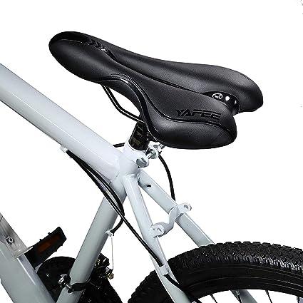 WYYZSS Sillín de Bicicleta,Sillín de Gel de Bicicleta de ...