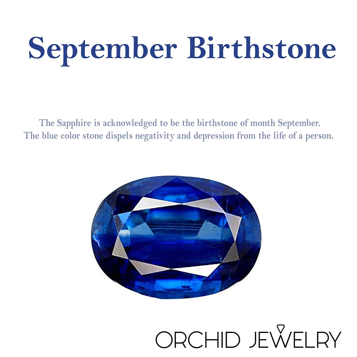 925 Sterling Silver Halo Ring For Girls Natural September Birthstone Gemstone Rings A Simple and Beautiful Birthday Gift For Wife Orchid Jewelry 1.60 Ctw 7x5mm Oval Blue Sapphire Ring For Women
