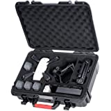 Smatree Carrying Case Compatible for DJI Spark, Waterproof Hard Portable Case for DJI Spark Fly More Combo