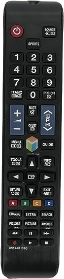 Vinabty BN59-01198Q de Control Remoto Compatible con Samsung UE43J5500AK 43
