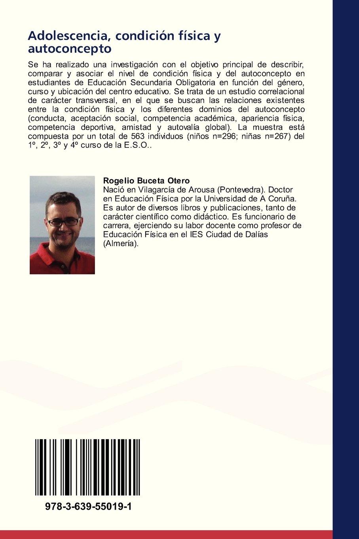Adolescencia, condición física y autoconcepto: Amazon.es ...