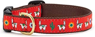 product image for Up Country Llama & Cactus Premium Ribbon Dog Collar Sizes S - L