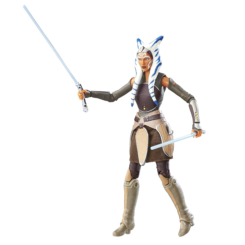 Star Wars Rebels Black Series Ahsoka Tano Figure, 6 Inch Hasbro B6330AS0