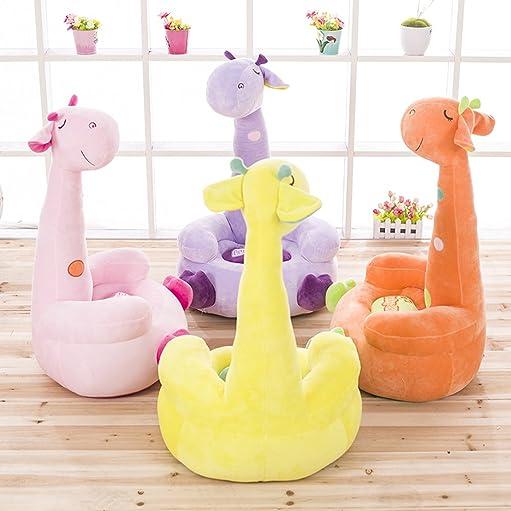 Giraffe Furniture - orange rocking chair