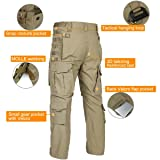FREE SOLDIER Men's Outdoor Multi Pockets Tactical