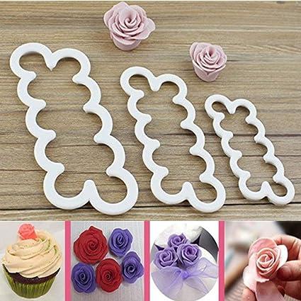 Amazon Com Cake Decorating Gumpaste Flowers The Easiest Rose Ever