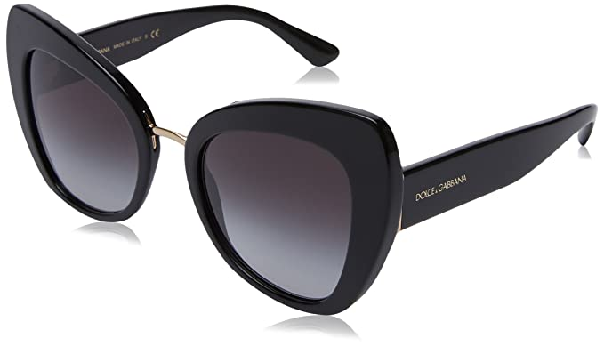 0440f0192dcd Amazon.com  Dolce   Gabbana sunglasses (DG-4319 501 8G) Shiny Black ...