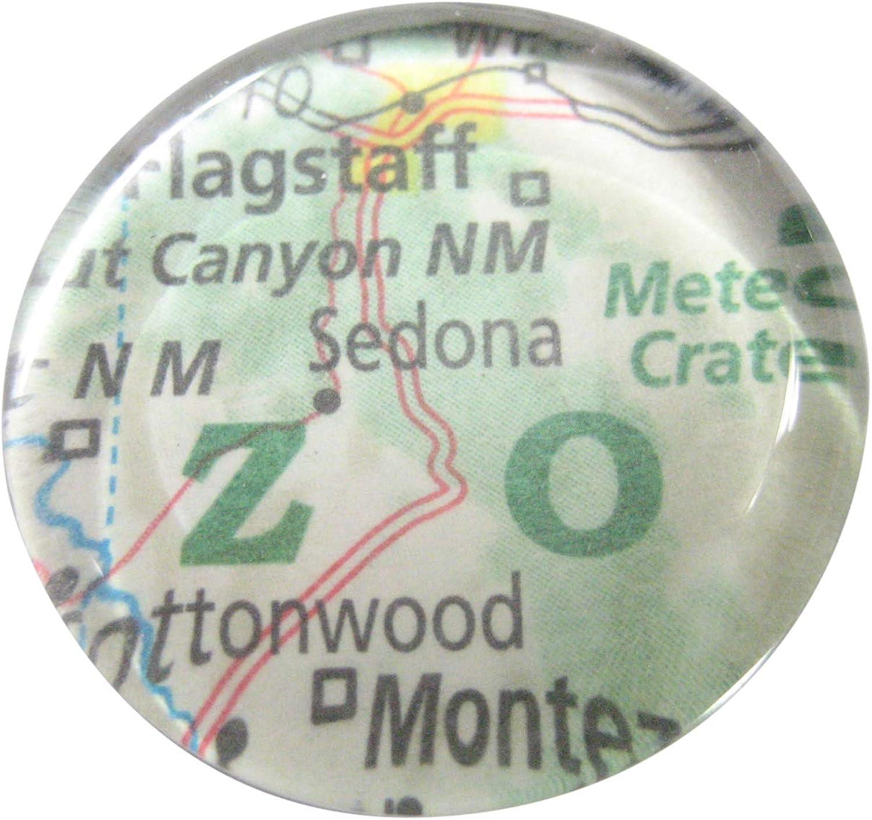 Kiola Designs Sedona Arizona Map Pendant Magnet