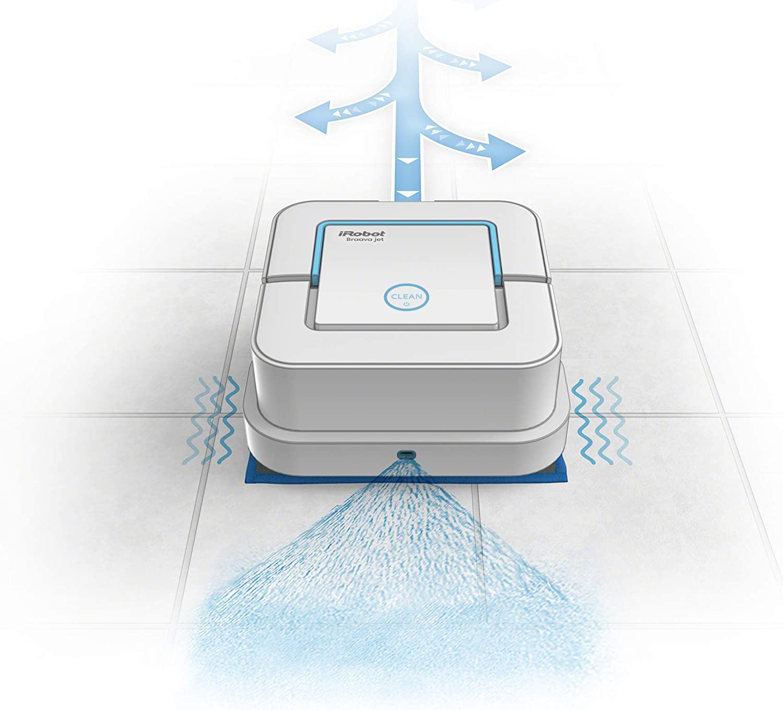 iRobot Braava Jet 240 Robot friegasuelos, 33 W, Varios, Blanco: Amazon.es: Hogar