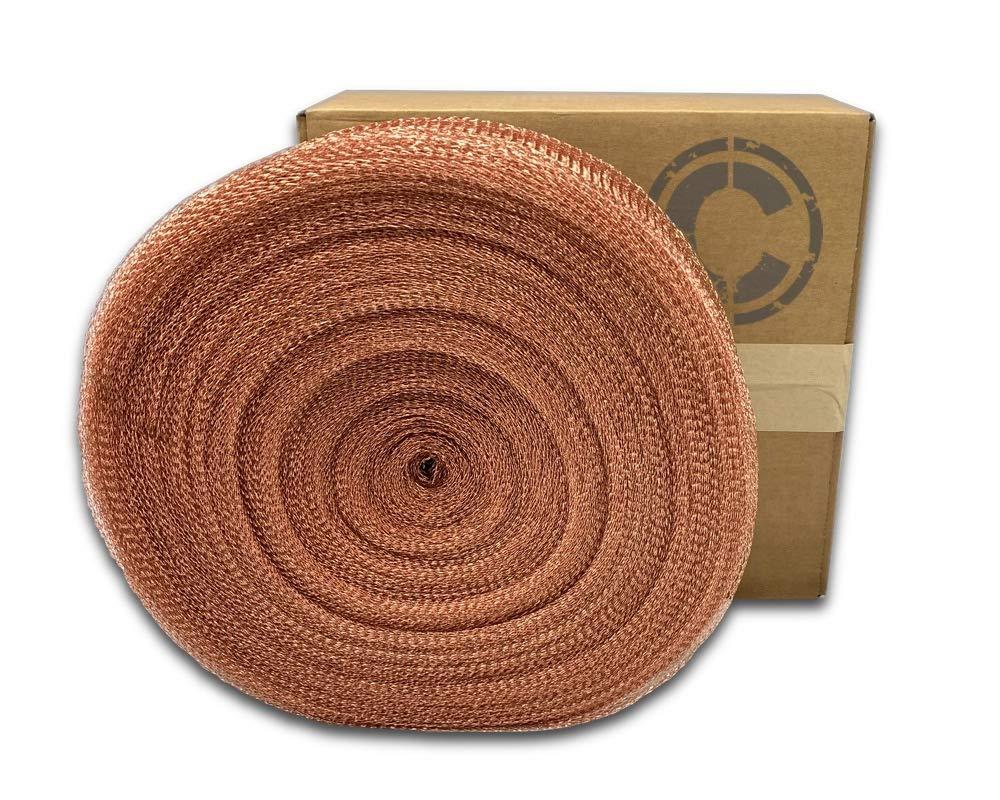 COLDBREAK MESH400 Mesh, 5'' x 400', Pure 100% Copper, USA Made