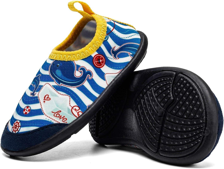 YIRANFA Yasuta Chaussures B/éb/é Chaussons de deau Plage Piscine Chaussettes Premiers Pas Chaussures de Marche 0-24 Mois