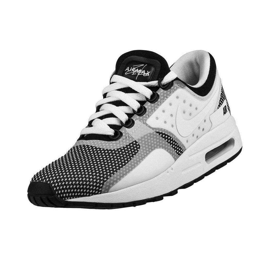 Nike Youth (GS) Air Max Zero Essential Running Shoes WhiteBlack 4.5