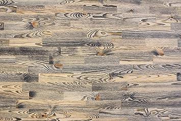Wodewa Vintage Optik/Style Echtholz 1m² Wandverkleidung Holz Paneele,  Rustikal Massivholz