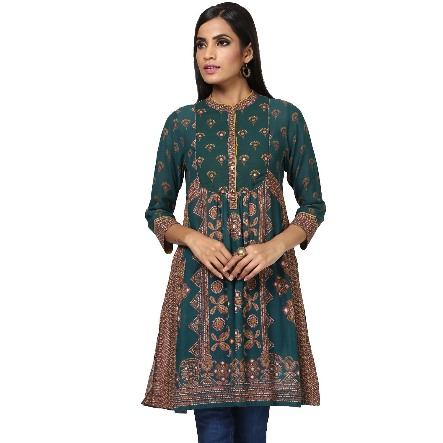 Ritu Kumar Women's A-Line Cotton Kurta