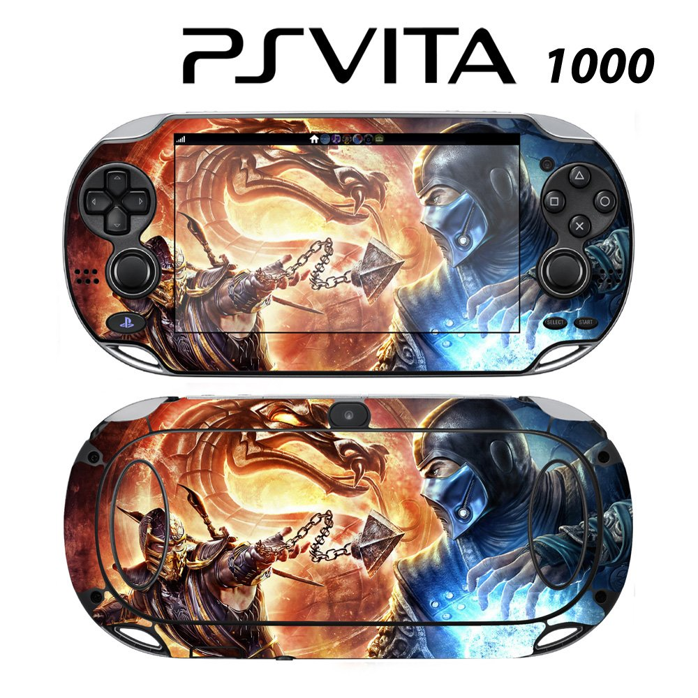 Decorative Video Game Skin Decal Cover Sticker for Sony PlayStation PS Vita (PCH-1000) - Mortal Kombat